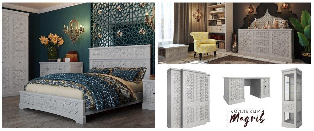 Новая коллекция мебели Magrib